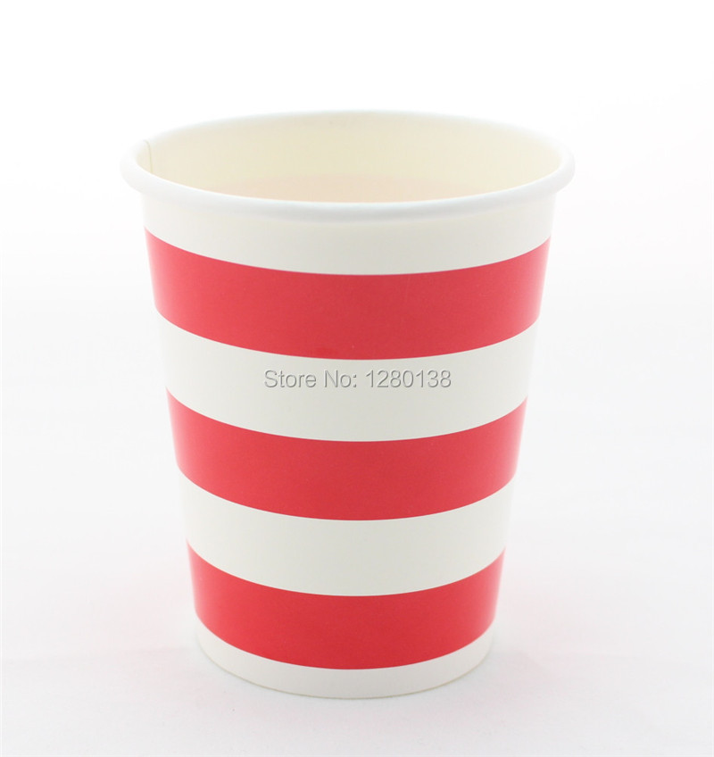 Red Striped Party Tableware Set Disposable Paper Plates Cups Drinking Straws Wedding Party Favor Decor Paper Napkins-in Disposable Party Tableware from ...  sc 1 st  AliExpress.com & Red Striped Party Tableware Set Disposable Paper Plates Cups ...