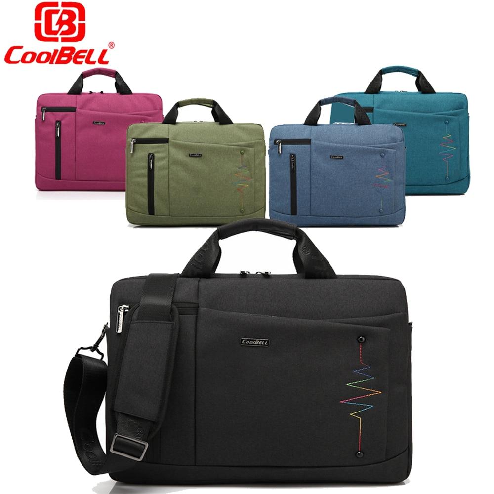 Cool Bell Brand 14 15.6 Inch Laptop Bag Men Women Notebook Bag Waterproof Computer Bag Laptop Briefcase Shoulder Messenger Bag
