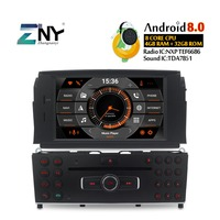 Android 8.0 Car GPS Stereo For Benz C Class C200 C180 W204 2007 2008 2009 2010 2011 Auto DVD Radio Audio Video WiFi Rear Camera