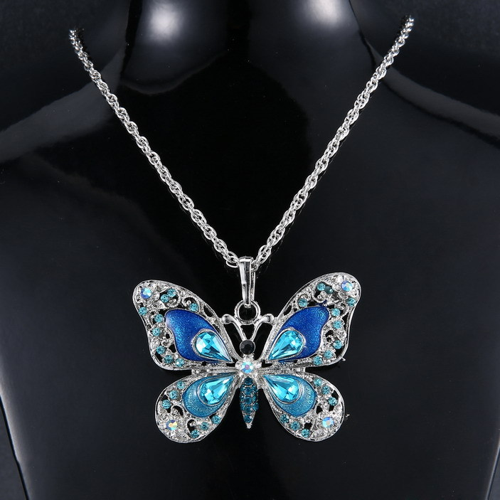and beautiful necklace womens crystal shaped pendants uk bell necklaces
