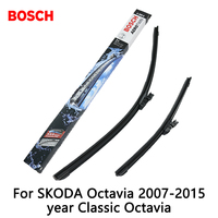 2pcs Lot Bosch Car AEROTWIN Wipers Windshield Wiper Blades Dedicated Wipers For SKODA Octavia 2007 2015year