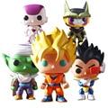 1pcs FUNKO POP Dragon ball Z Super Saiyan Vegeta Son Goku Piccolo Action Figure Toy PVC Collection Model Doll Toys