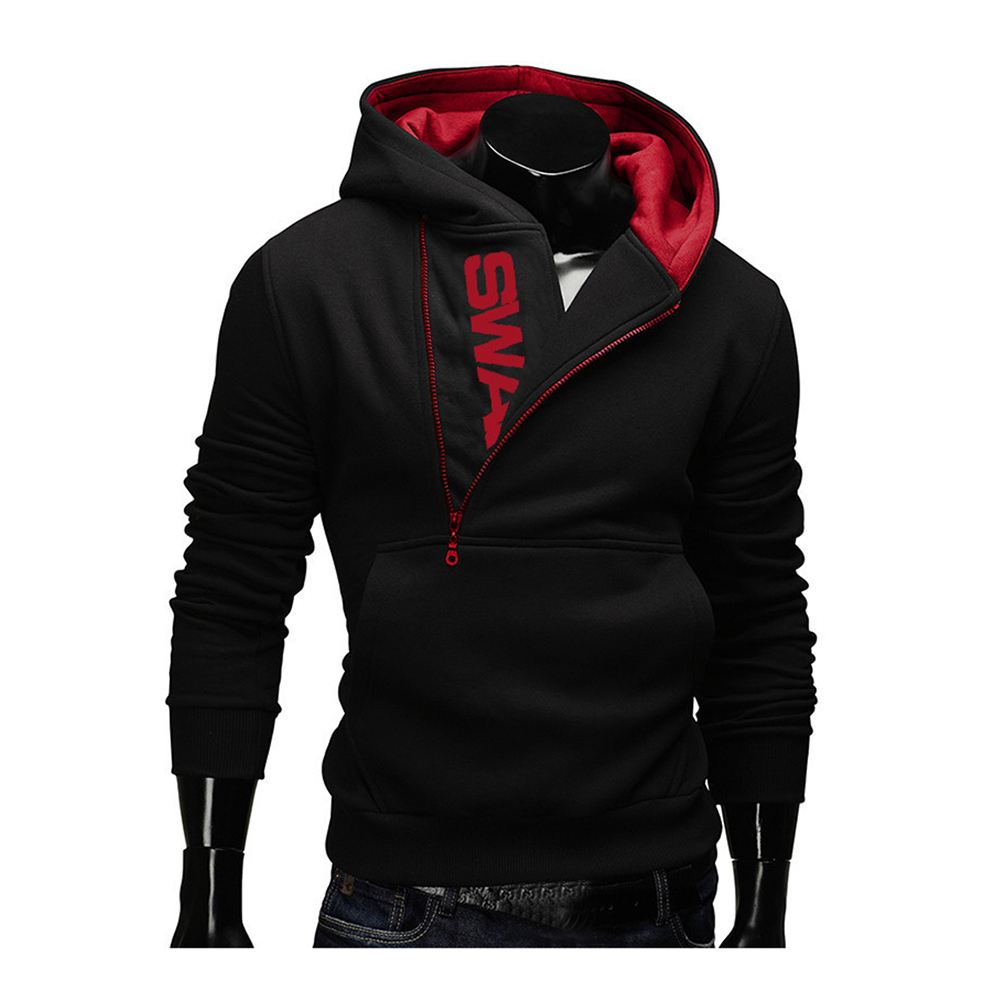 Fashion Cotton Men Hoodies Autumn Tracksuit Sweatshirt Men's Winter Warm Collar Cap Long Sleeves Clothing Swag Pullover Hoodies