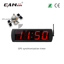 Ganxin synchronization large wall clock led wall clock