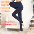SUPER PLUS SIZE Winter Warm Women Girls Velvet Double thick Thermal Leggings Fitness Leggings Pants High Elastic 100-120KGS 8802