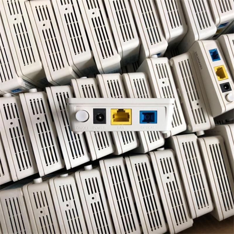 90% НОВОЕ б/у оборудование 20 шт huawei Gpon Onu HG8310M ftth ont волоконно оптический маршрутизатор 1GE без питания и коробки - 5