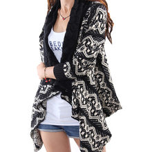 Осень зима свитер женский шаль корейский вязание крючком цветок лацкане вязаный кардиган женское длинное пальто джемпер Vestidos LXJ273