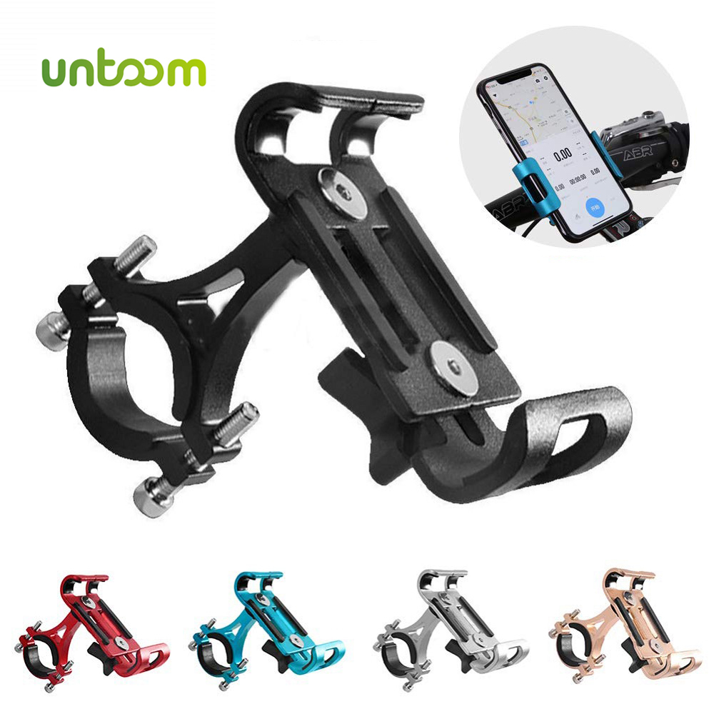 Untoom Universal Motorcycle Bicycle Phone Holder 3.5-6.5