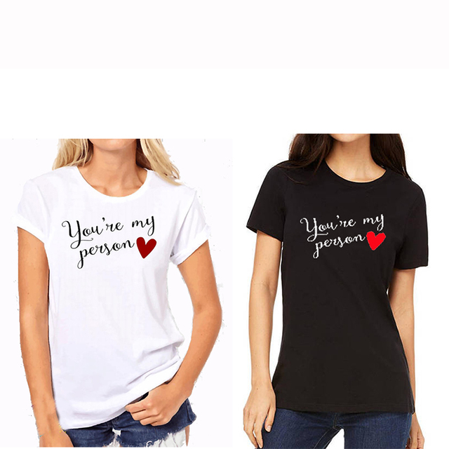 ef5657e1f272 EnjoytheSpirit BFF Gift Birthday Shirts Funny Women s Clothing Best Friend  Shirts Black and White 100% Cotton Casual Tee