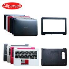Asus için dizüstü bilgisayar durumda A455L K455L R455L X455L Y483L W419 üst kapak/ekran çerçevesi/palmrest durumda/alt kabuk/sabit disk kapağı