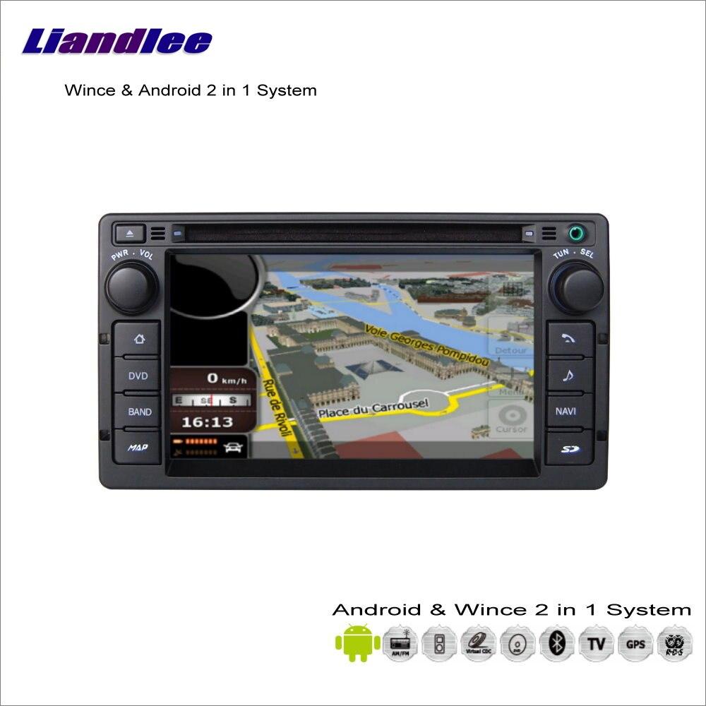Liandlee для Ford Crown Victoria 2008 ~ 2011 Радио BT CD dvd плеер GPS навигация Расширенный wince и Android 2 в 1 s160 Системы