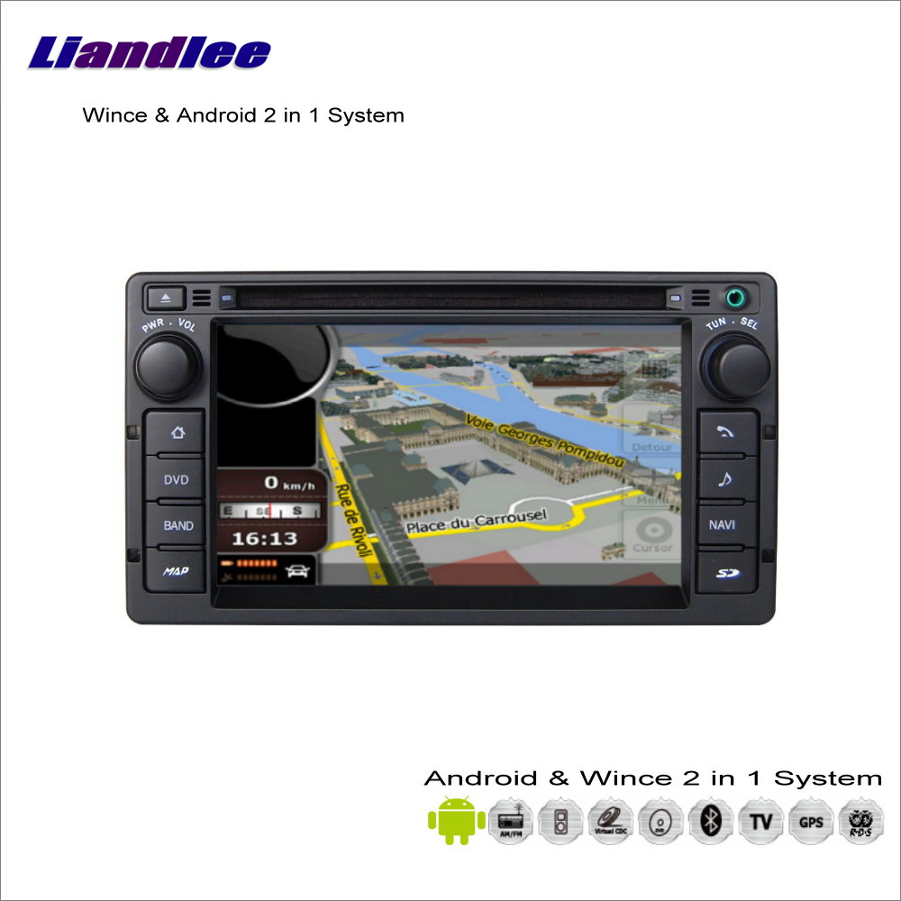 Liandlee For Ford Crown Victoria 2008~2011 Car Radio BT CD DVD Player GPS Navigation Advanced Wince & Android 2 in 1 S160 System недорго, оригинальная цена