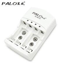 Пало 100% оригинальное зарядное устройство для аккумуляторов C801N электрической зарядки для AA/AAA 9 v (6F22) Ni-MH 9,5 часа выключено Выход напряжение 2,4/8,5 V