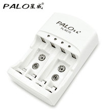Palo Battery Charger C801N Electric WIFI Charging Units For AA/AAA 9v(6F22)Ni-MH Rechargeable Battery Use