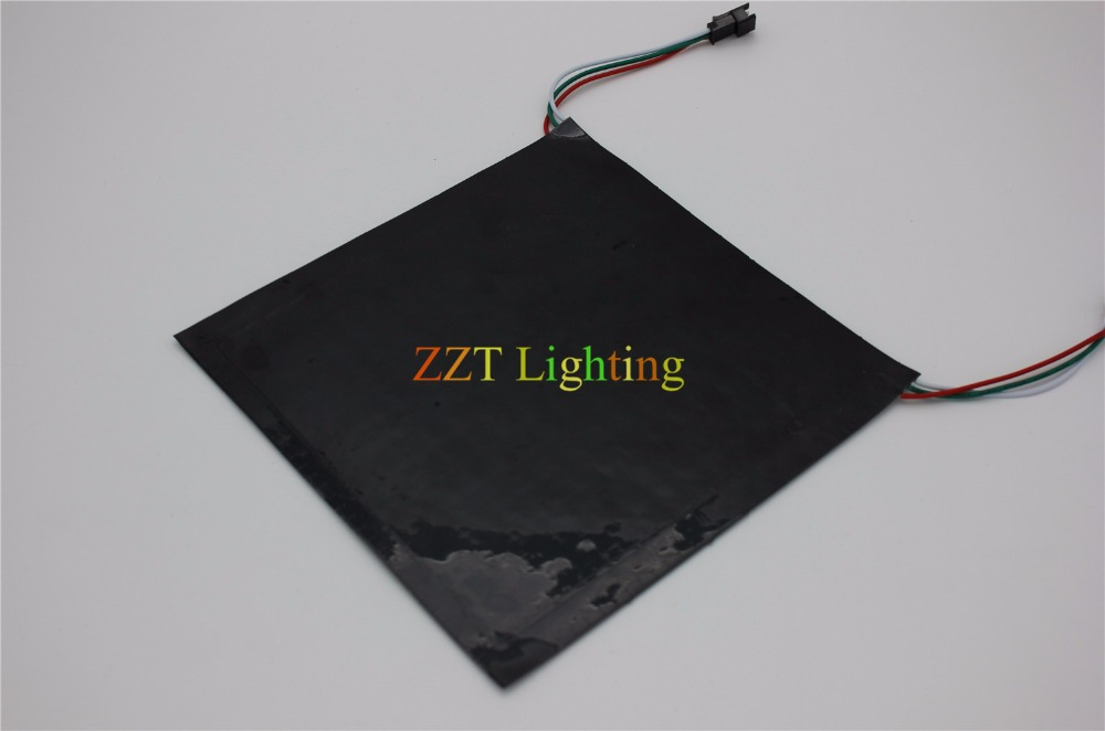Image 5 - P10mm 16*16 بكسل 256leds مرنة صغيرة led مصفوفة ws2812 WS2812b-في وحدات LED من مصابيح وإضاءات على AliExpress