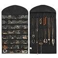 LASPERAL Colgante Collar Pendientes Pulsera Joyería Organizador Bolsas de Almacenamiento de Artículos Diversos Para El Hogar Pantalla Multifuncional 42x83 cm 1 UNID