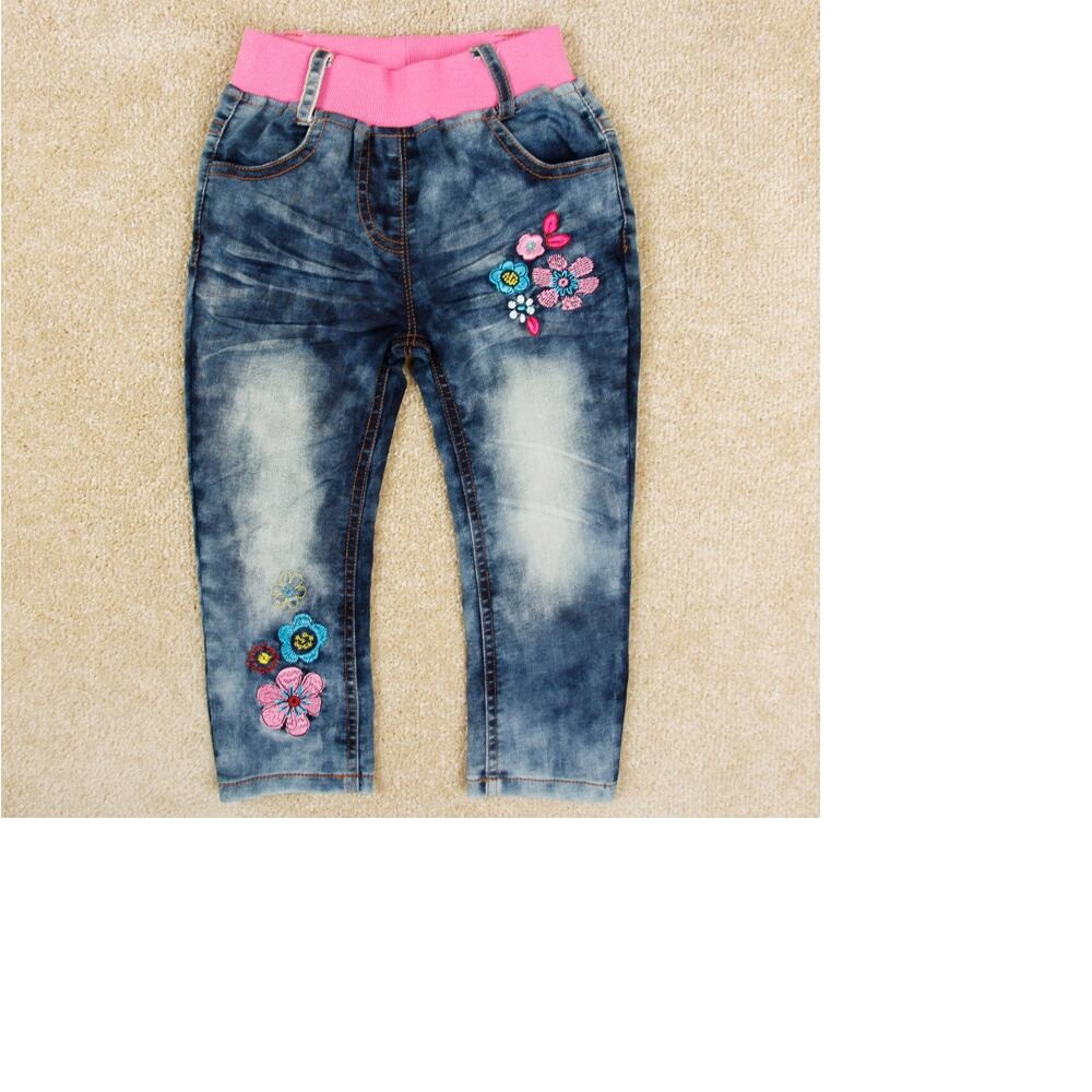 Free shipping 2016 autumn new children s jeans girls jeans in children