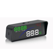 GEYIREN P9 hud head up display two display model car speed projector display the speedometer on the car HUD speed car accesories(China)