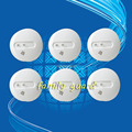 Free Shipping!wireless alarm 433MHZ smoke detector/Photoelectric sensor can connect with GSM alarm systemr/80m without block
