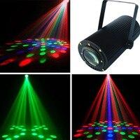 110 220v LED Moonflower voice self propelled water RGB LED effect lights for DJ KTV rooms wedding Indoor lighting