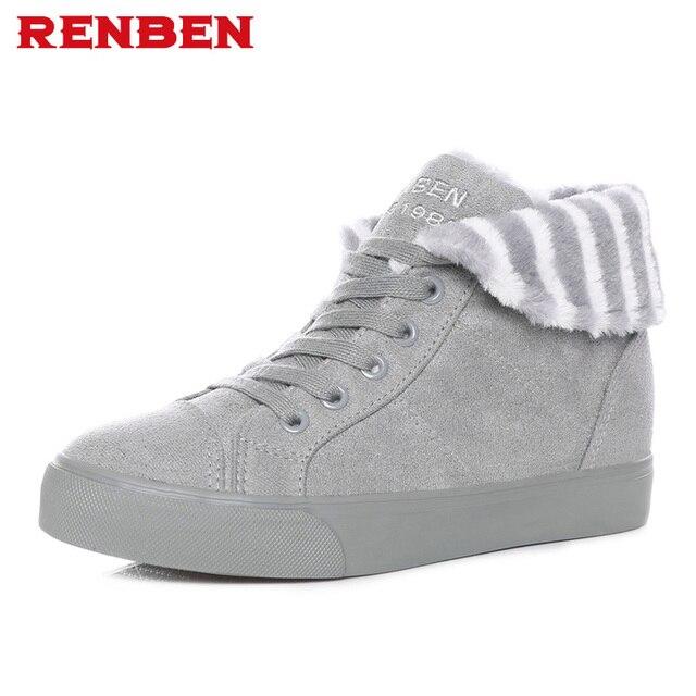 Лидер продаж; обувь; женские ботинки; однотонные мягкие милые женские зимние ботинки; Зимние ботильоны на плоской подошве с круглым носком