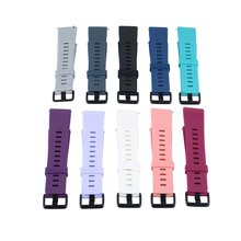 10Pcs Colors Fashion Design Watch Band Sports Silicone Fitness Strap For Fitbit Versa Smart Accessories Wristband