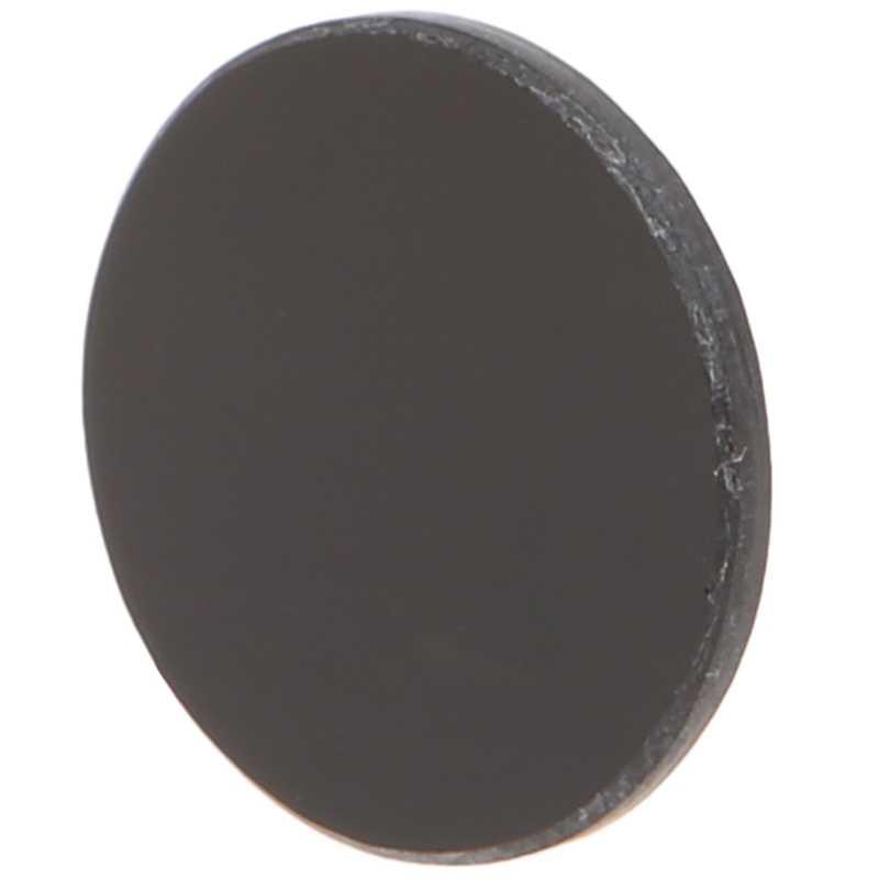 ZWB2 ultravioleta UV banda paso filtro UV linterna diámetro 19,5mm espesor 2mm