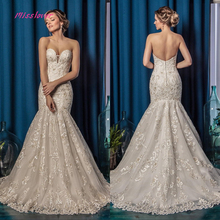 Vestido De Noiva Luxury Vintage Wedding Dress 2019 backless