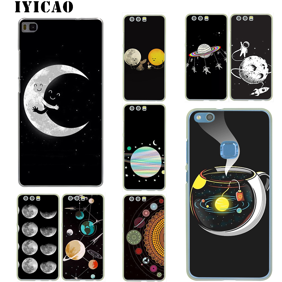 Phone Bags & Cases Modest Iyicao Cartoon Moon Stars Hard Case For Huawei P20 P9 P10 Plus P8 Lite Pro P Smart 2019 Nova 2i Lite 3i 4 To Be Distributed All Over The World