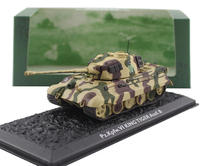 ATLAS 1/72 Pz.Kpfw.VI KING TIGER Ausf.B Heavy tank model Alloy collection model Holiday gift