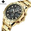 Mens Watches Top Brand Luxury Quartz Analog LED Digital Sports Watch Men Gold Military Wrist Watch Male Clock Relogio Masculino