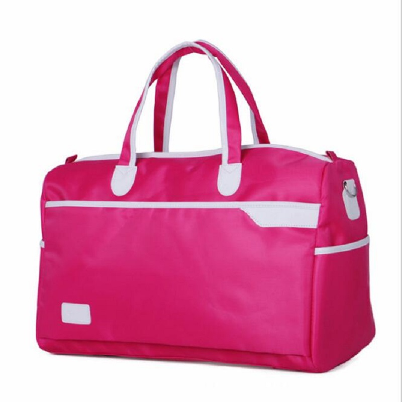 Women Waterproof Travel Bag Summer Style  Leather Women Bag Travel Duffel Bag New Tower Beauty Lady Print Luggage