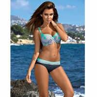 SAMEGAME Push Up Bikinis ชุดว่ายน้ำผู้หญิงชุดว่ายน้ำ 2019 ชุดว่ายน้ำใหม่เซ็กซี่พิมพ์ชายหาดชุดว่ายน้ำชุดบิกินี่หญิง Biquini