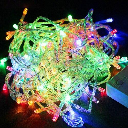 Christmas Decoration for Home 50M 500LED Xmas Party Christmas Decor String Fairy Wedding Light Lamp 110V cis 57455 solar powered 50 led white xmas party wedding decor string light black 3 2v 7 5m
