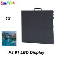 P3.91 Display LED Interior Com Nova Estrela MRV300 Recebe o Cartão + Fundição Gabinete De Alumínio 500*500 MILÍMETROS Fase tela CONDUZIDA ao ar livre Dj