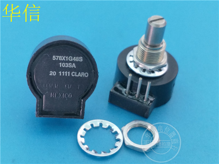 Original new 100% Mexico import 578X1G48S 103SA 10K seals single potentiometer bending inside feet (SWITCH) цена
