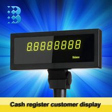 Freies verschiffen LED kundenanzeige für kassensystem kassen kundenanzeige