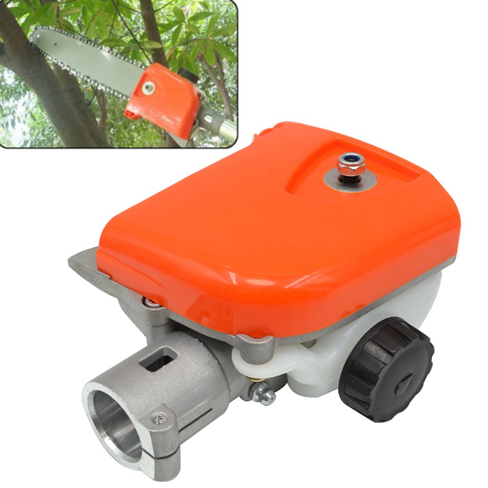 4 Spline Agricultural Practical Aluminum Sturdy Tree Cutter Gearbox Forestry Durable Chainsaw Part Easy Install Replacement