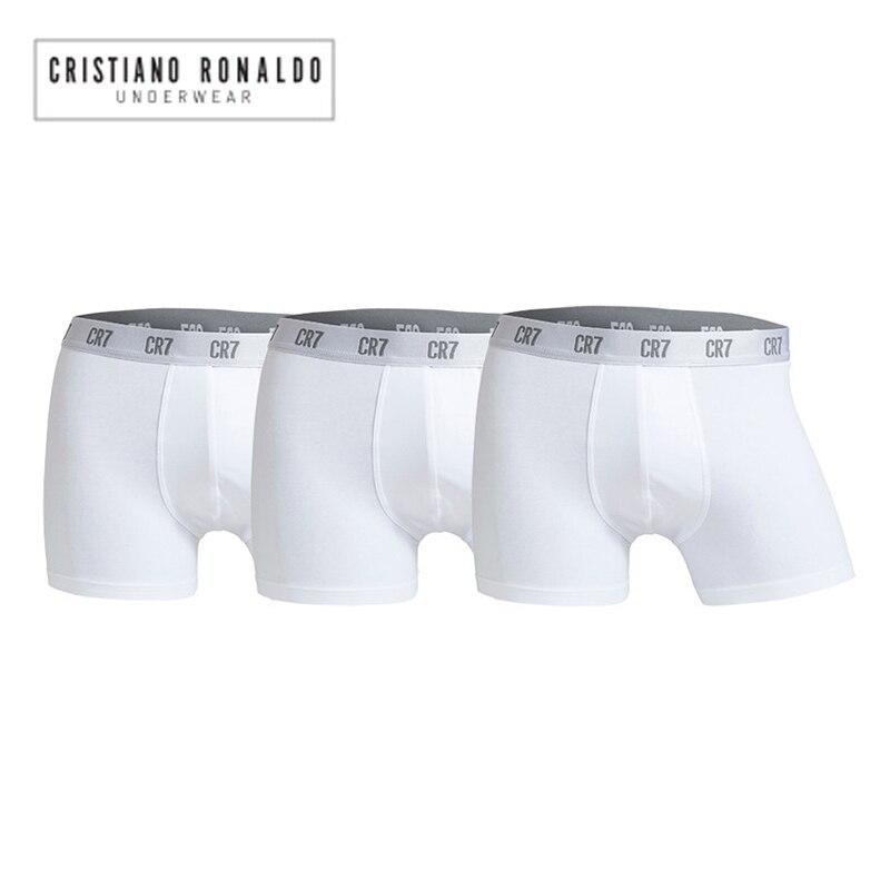 6 Pz/lotto Cristiano Ronaldo Cr7 Shorts Biancheria Intima Del Pugile Degli Uomini Boxer In Cotone Sexy Delle Mutande Di Marca Tirare In Maschio Mutandine E Boxer