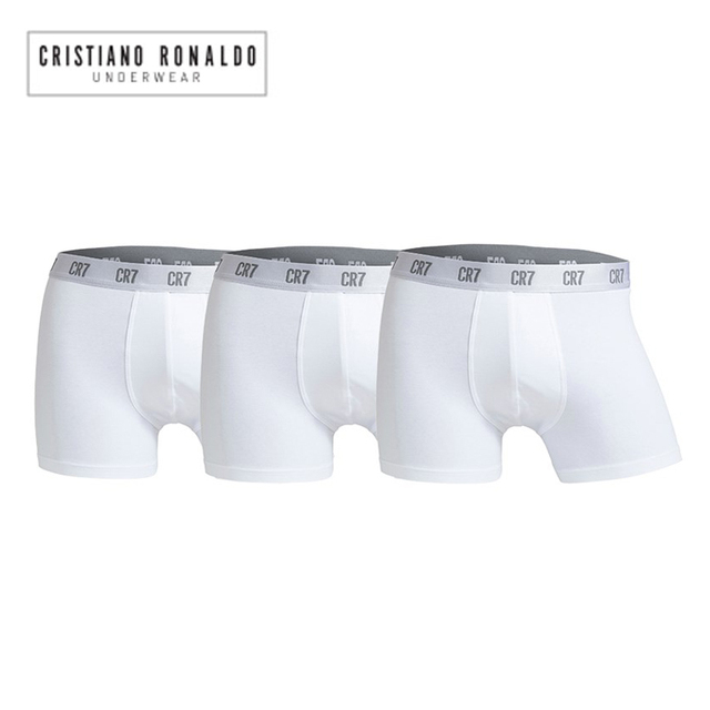 6pcs/lot Cristiano Ronaldo Cr7 Men's Boxer Shorts Underwear Cotton Boxers Sexy Underpants Brand Pull in Male Panties