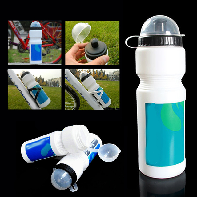 750ml Portable Leak-proof Sport Kettle Outdoor sport Water Bottle For Mountain Bike Road Bike