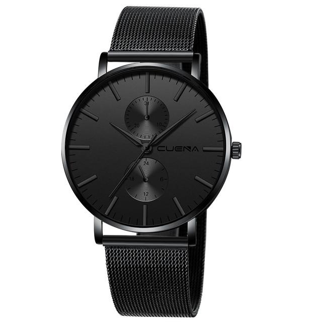 Black 3bar Watch Men relogio feminino montre femme Women'S Watches Ladies Watch With Crystals reloj mujer fashion bayan saat