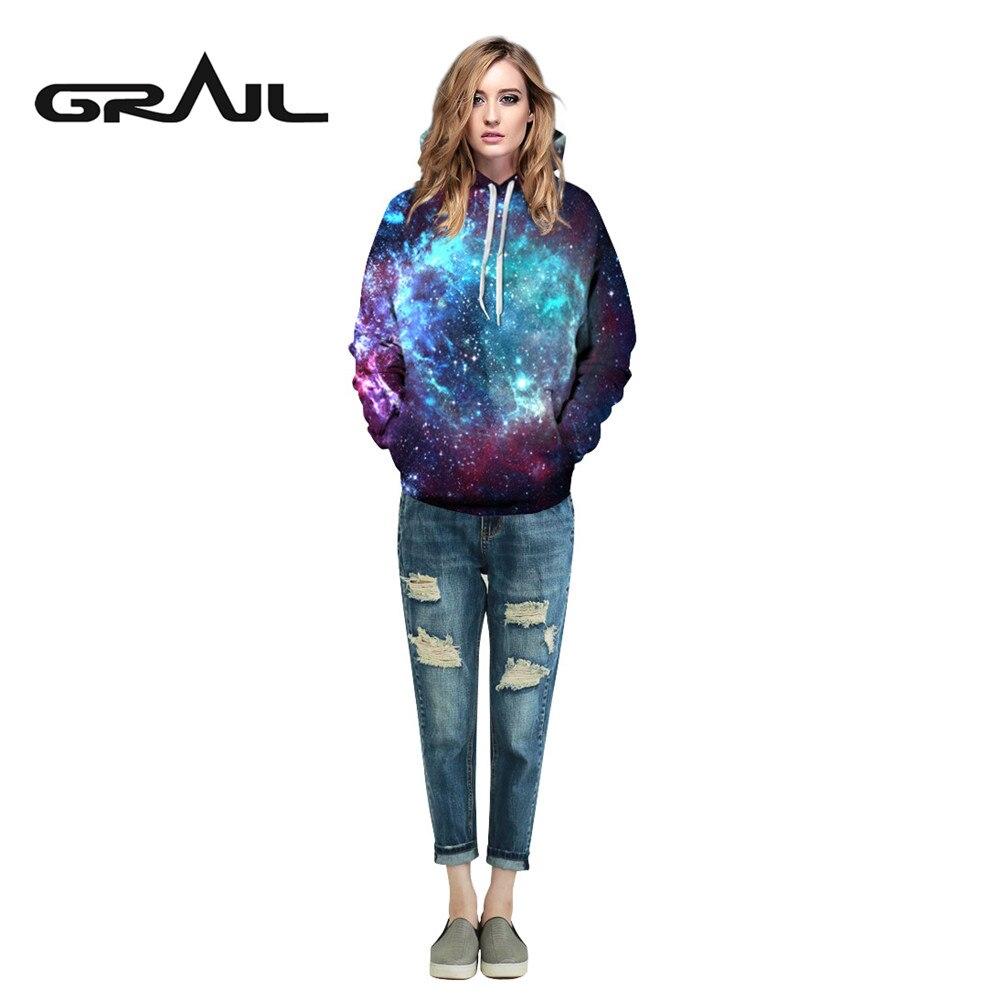 Trainning & Exercise Sweaters Nice Grail Galaxy 2017 New Starrysky 3d Print Hoodies Man Couple Sweatshirt Pullover Kpop Skateboard Hoodie Christmas Qydm075 Shirts