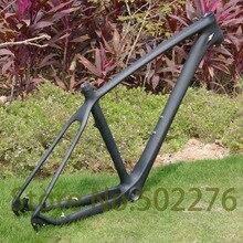 """UD углеродная глянцевая/матовая велосипедная Рама 650B 27,5 er MTB горный велосипед(для BSA/BB30)+ зажим для сиденья 34,9 мм+ гарнитура-1"""" 19"""""""