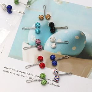 Image 4 - 12Pcs Muslim Hijab Scarf Safety Pin Clips Rhinestone Ball Brooch Fashion Jewelry