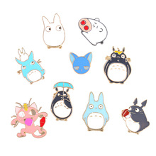 Pins and brooches cartoon animal cat enamel pin Badges jewelry Gift for lover brooch accessories wholesale