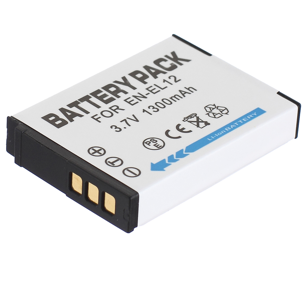 Dutiful Battery Pack For Nikon En-el12 En-el 12 Enel12 Lithium-ion Rechargeable