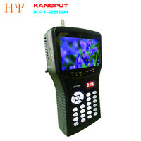 [Genuine] KPT-255H DVB-S2 FTA C KU Band Digital Satellite Finder Meter con MPEG-2/MPEG-4 meglio di KPT-955H