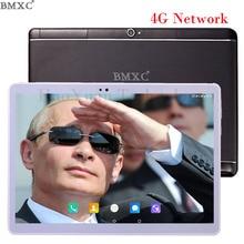 4G LTE 10.1 pulgadas BMXC Marca Llamada Tablet PC Octa núcleo pulgadas de Doble Tarjeta SIM tablet Android 6.0 WIFI GPS Bluetooth netbook