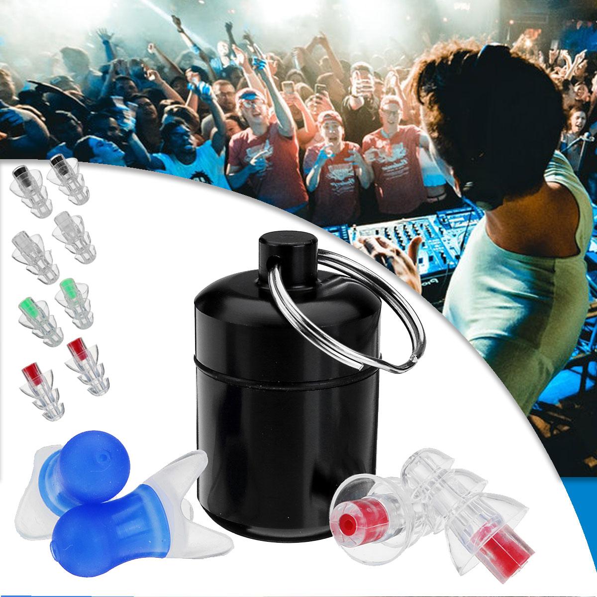 Safurance 2Pcs Noise Cancelling Earplugs Hearing Protection Reusable Silicone Ear Plugs For Sleep Bar whit Bottle свитшот print bar sleep autumn